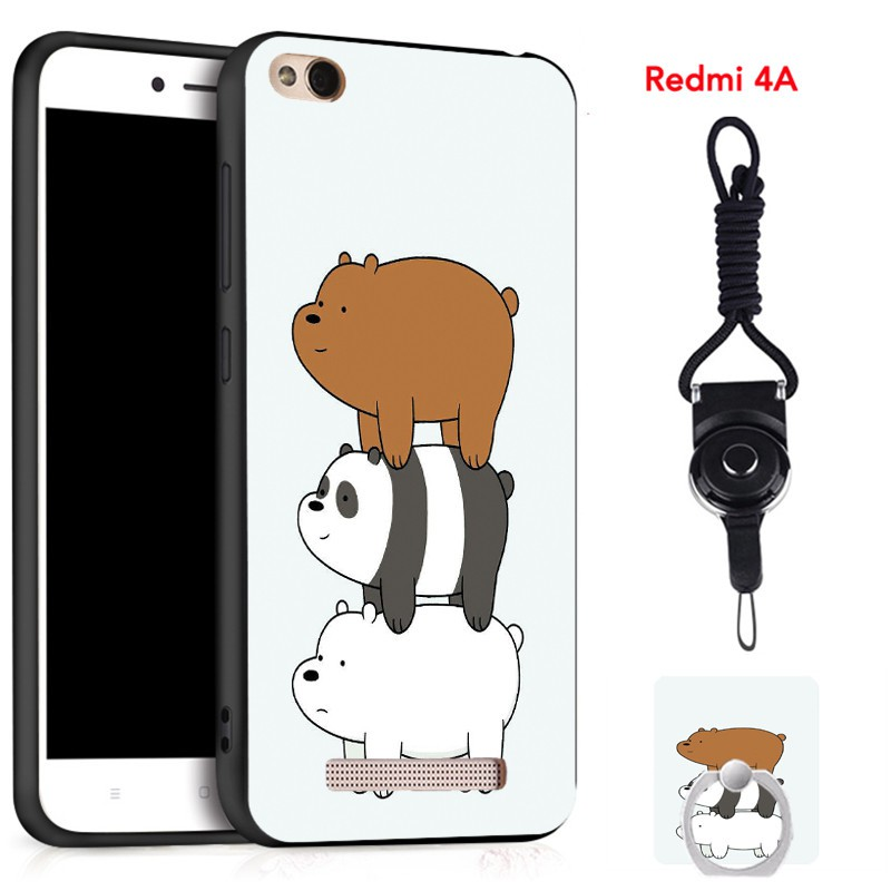 For Xiaomi Redmi 4A Silica Gel Soft Phone Case