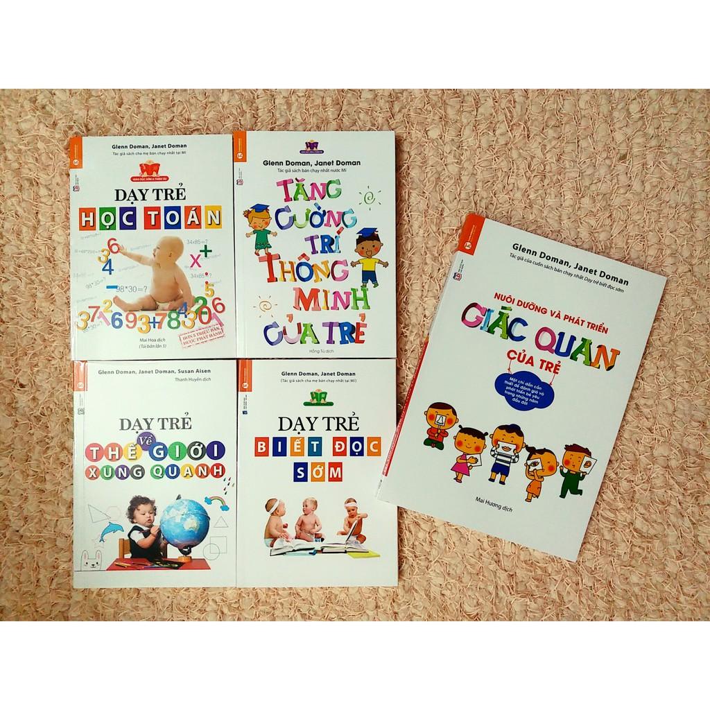 Bộ sách dạy trẻ thông minh sớm ( Trọn bộ 5 cuốn ) Theo phương pháp GLENN DOMAN - 2659331 , 146211301 , 322_146211301 , 298400 , Bo-sach-day-tre-thong-minh-som-Tron-bo-5-cuon-Theo-phuong-phap-GLENN-DOMAN-322_146211301 , shopee.vn , Bộ sách dạy trẻ thông minh sớm ( Trọn bộ 5 cuốn ) Theo phương pháp GLENN DOMAN