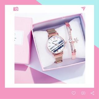 Đồng hồ nam nữ Candycat thời trang cực đẹp DH34