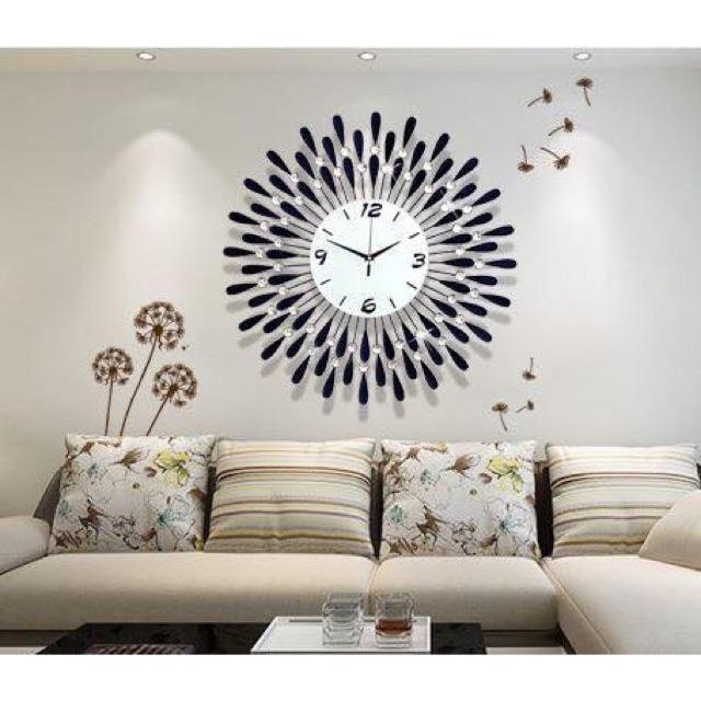Đồng hồ treo tường trang trí quà tặng tân gia siêu ý nghĩa