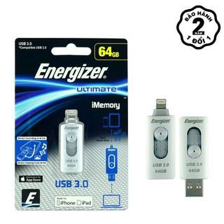 USB 64Gb Lightning OTG Energizer Ultimate - FOTL3U064R thumbnail