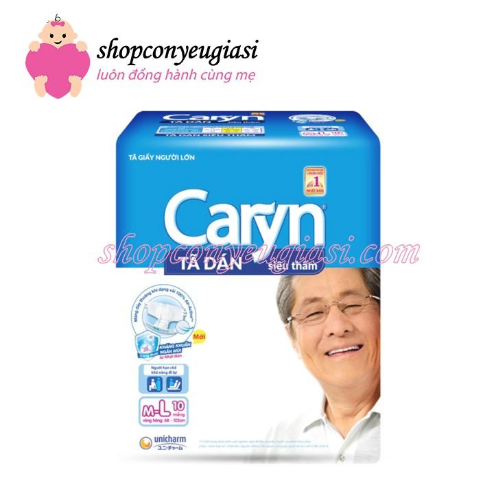 Tã dán Caryn siêu thấm M-L 10 miếng