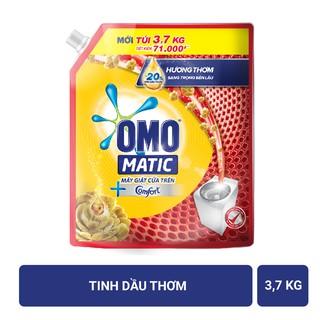 Hình ảnh Nước giặt OMO Matic 3,7kg (Túi)-1