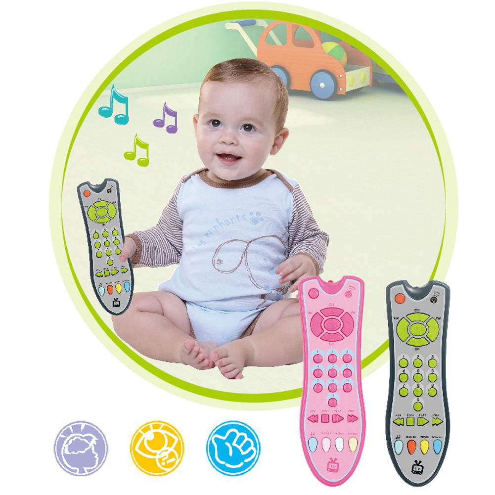 Educational Numbers Multifunctional Electric Music Plastic Simulation Baby Toys TV Remote Control