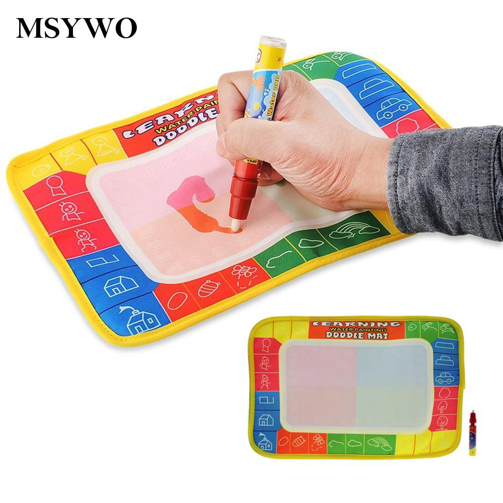 72*48 Children Kids Magic Pen Water Learning Writing Painting Drawing Vintage