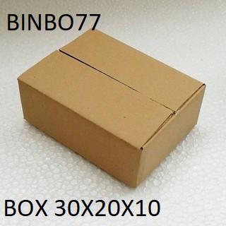 Thùng carton 30x20x10 combo 20hộp