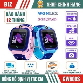 Đồng hồ định vị trẻ em WONLEX GW600S - Chống nước IP67 - CHÍNH HÃNG