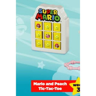 Đồ chơi Happy Meal – Super Mariio! (Mario and Peach Tic-Tac-toe)