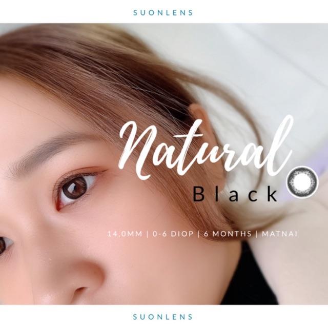 [Hsd 6 tháng] Kính áp tròng KEISHA NATURAL BLACK