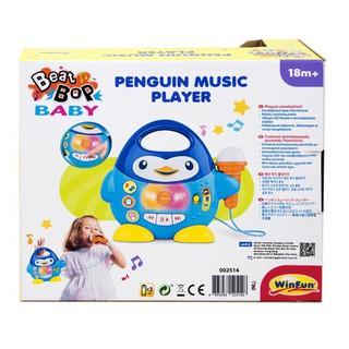 Chim cánh cụt biết hát kèm Micro Winfun