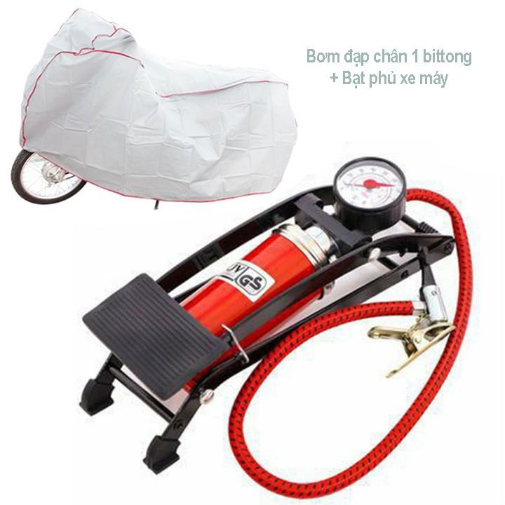 Bơm đạp chân 1 Piston dùng cho ô tô - xe máy tặng kèm bạt phủ xe máy - 3154184 , 1341746569 , 322_1341746569 , 119000 , Bom-dap-chan-1-Piston-dung-cho-o-to-xe-may-tang-kem-bat-phu-xe-may-322_1341746569 , shopee.vn , Bơm đạp chân 1 Piston dùng cho ô tô - xe máy tặng kèm bạt phủ xe máy