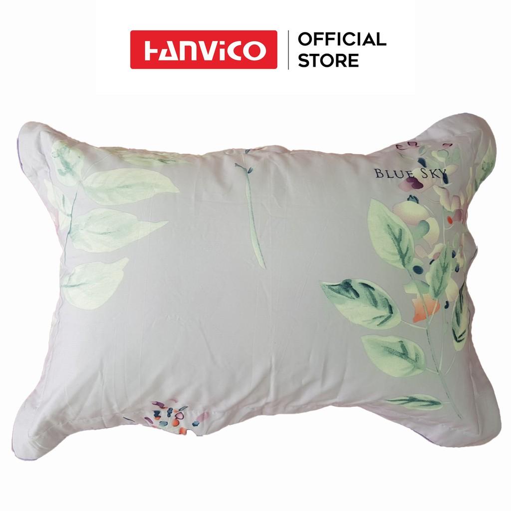 Đôi vỏ gối Hanvico 100% cotton cao cấp ( nhiều màu lựa chọn )