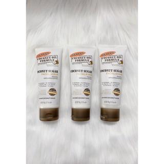 [HÀNG MỸ] Sữa dừa tẩy tế bào chết cho mặt Palmers Coconut Sugar Facial Scrub 90g. thumbnail