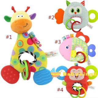 Y&L ❥Monkey Giraffe Animal Stuffed Doll Soft Plush Toy Newborn Baby Kids Infant Toy&RAISE