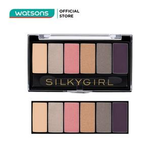 Phấn Mắt 6 Ô Silkygirl Truly Nude Eye Shadow Palette - 02 Blossom 6g thumbnail