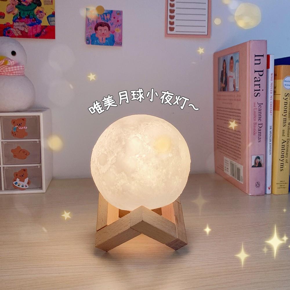 Đèn Led Hình Mặt Trăng Đa Năng Sáng Tạo Diy