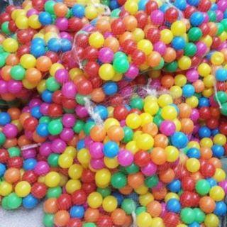 Combo 500 bóng nhựa căng bóng loại 5cm cho bé