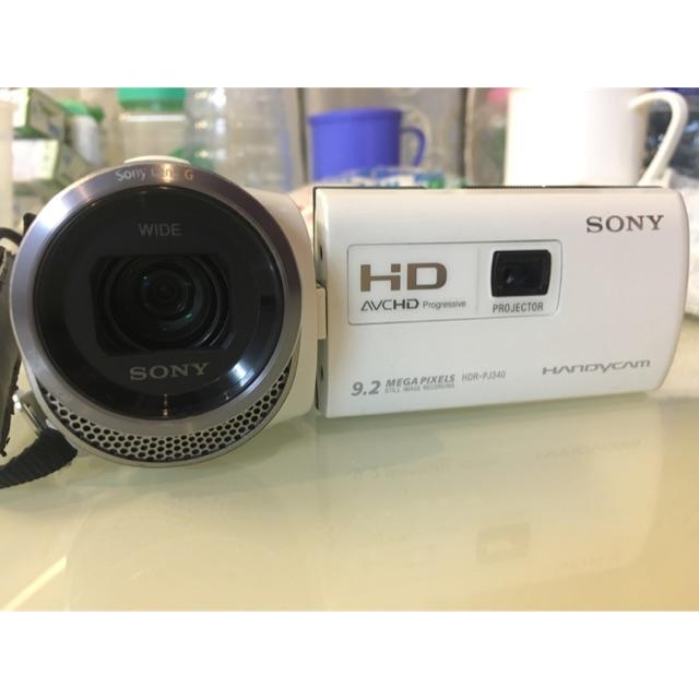 Máy quay phim sony hdr-pj340e