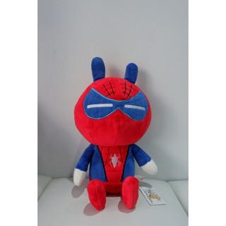 Tuki đáng yêu cosplay Spiderman