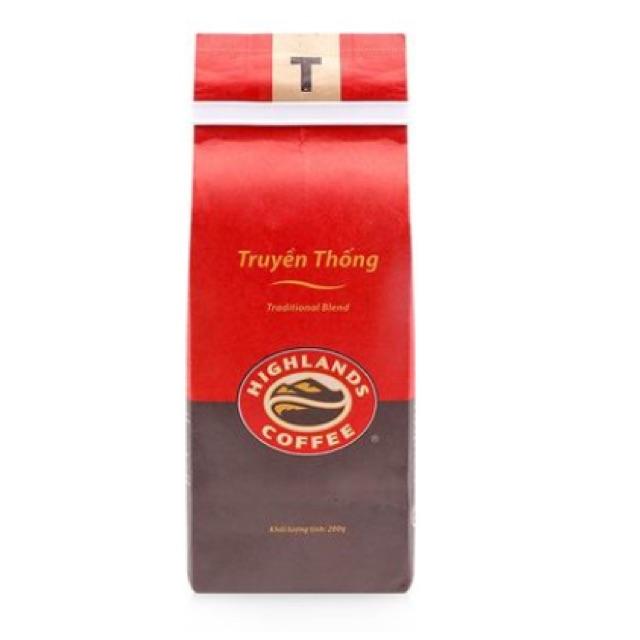 Cà phê Truyền Thống Highlands Coffee 200g
