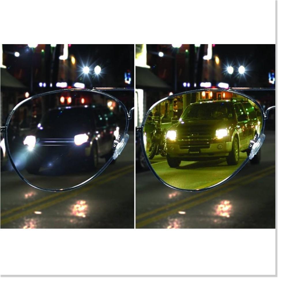 Kính nhìn xuyên đêm - Tặng kèm bao da - Kính Night View Glasses
