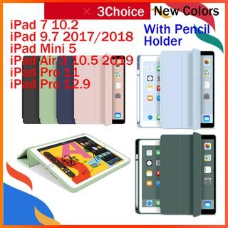 Bao da thông minh cho máy tính bảng iPad 7 10.2 Mini 5 9.7 2017/2018 Air 3 Pro 10.5 12.9 11 2020