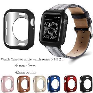 Ốp Bằng Tpu Bảo Vệ Cho Đồng Hồ Thông Minh Apple Watch Series 5 4 3 2 1 Iwatch 44mm 40mm 42mm 38mm