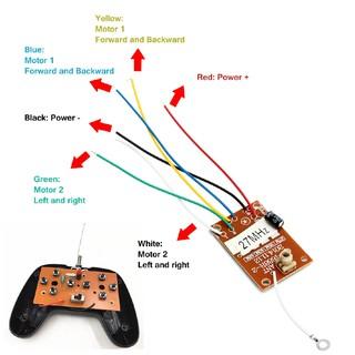 ❁❁Bảng điều khiển từ xa 8 nút 27mhz 4CH với ăng ten dành cho sn-9