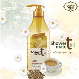 Sữa Tắm Tinh Chất Hoa Cúc shower mate chamomile 550g (hương thơm nhẹ nhàng , thư thái))