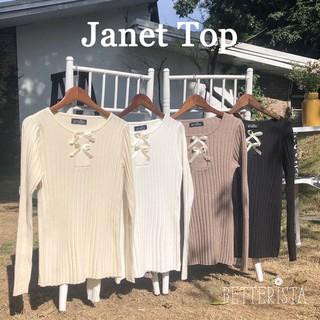 Áo len dài tay Janet (với 2 nơ xinh) thumbnail