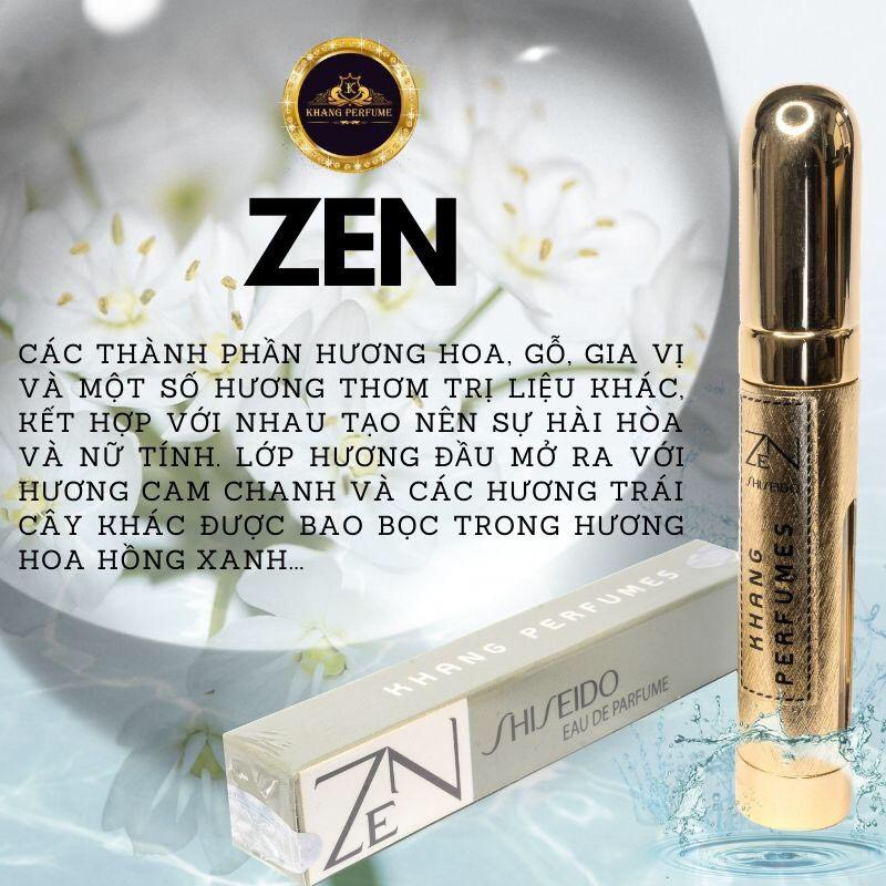 Nước hoa nữ ZEN by KALabo 12ml [Khang Perfume,cam kết Lưu hương 8-12h]