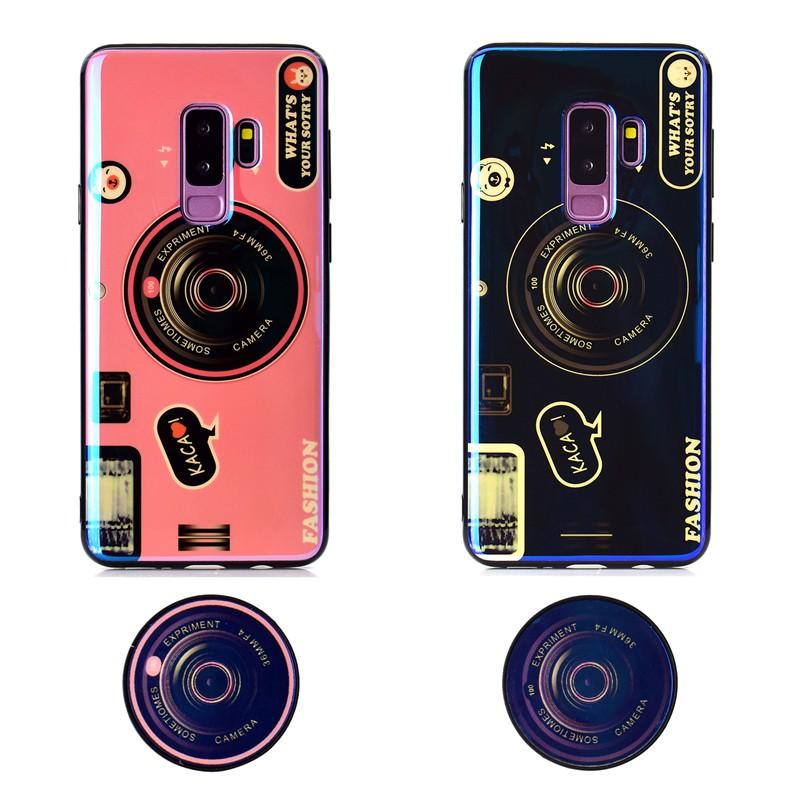 Ốp điện thoại thiết kế kiểu máy ảnh độc đáo cho Huawei Honor10 Lite V10 Honor V20 Note10 P Smart