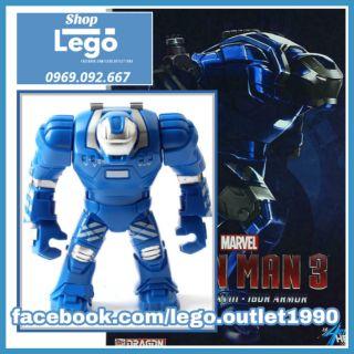 Xếp hình Iron man Mark 38 - Igor Siêu anh hùng Marvel Bigfigures Lego Minifigures Decool 0231 thumbnail