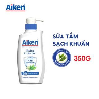 Aiken Sữa tắm Sạch khuẩn Chiết Xuất Trà Xanh Thiên Nhiên 350g