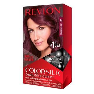 Thuốc nhuộm tóc Revlon Deep Burgundy 34 - Mỹ - 130ml