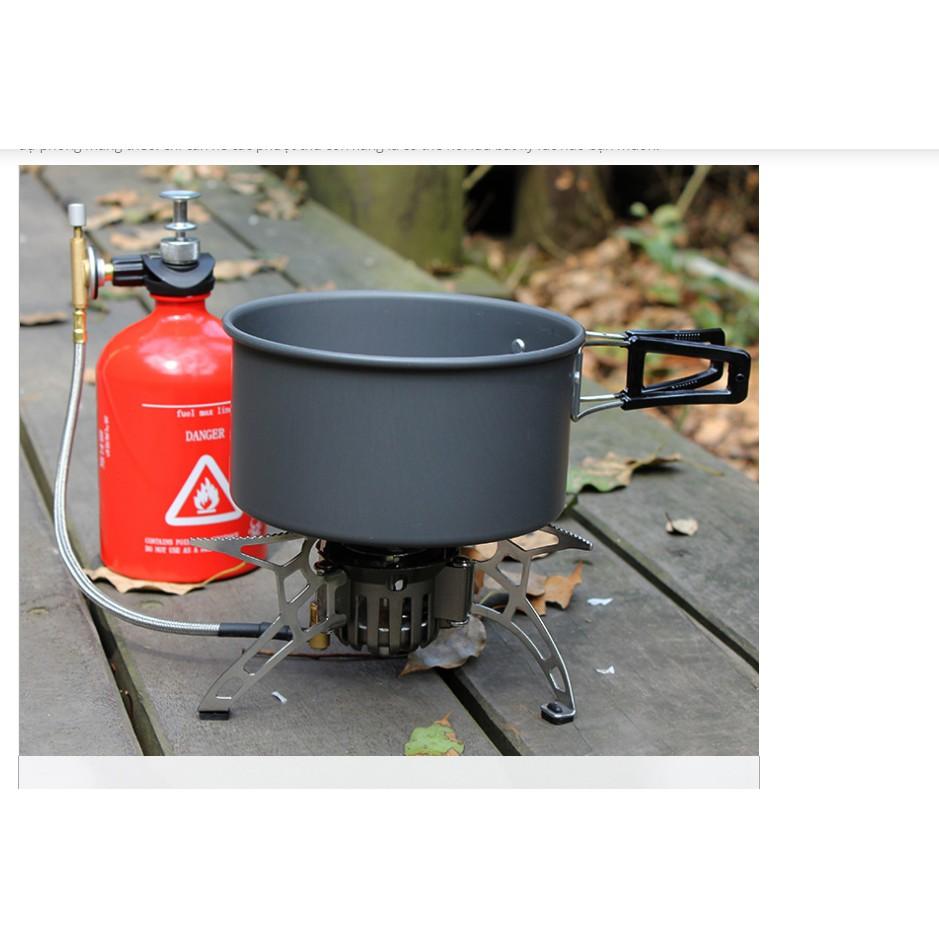Bếp gas mini du lịch bếp đun du lịch bằng khí xăng dầu bếp đun măng sông