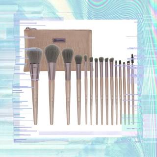 Bộ Cọ Trang Điểm Bh Cosmetics Lavish Elegance 15 Cây Kèm Túi Đựng thumbnail