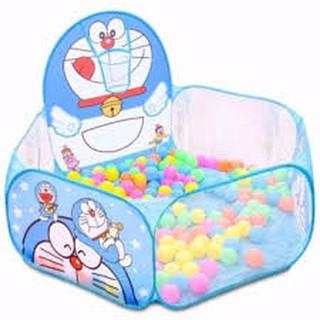 combo Lều bóng doremon và 100 trái bóng cho bé yêu