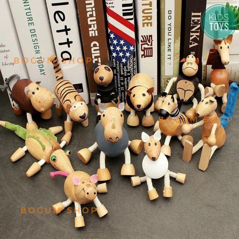 Bộ sưu tập thế giới động vật gỗ cho bé ( hoặc trang trí)