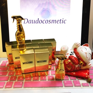 [ mini ] Nước hoa Moschino Gold Fresh Couture EDP 5ml thumbnail