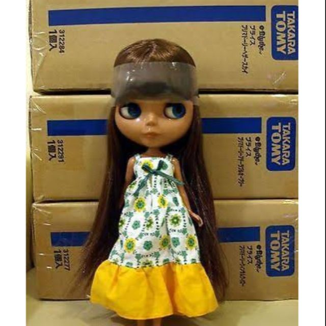 ตุ๊กตา blythe น้องดำมือ1ใหม่เอี่ยม รุ่นนี้หายาก ผมสวยมาก ของรักของหวงส่งต่อราคาถูกๆ