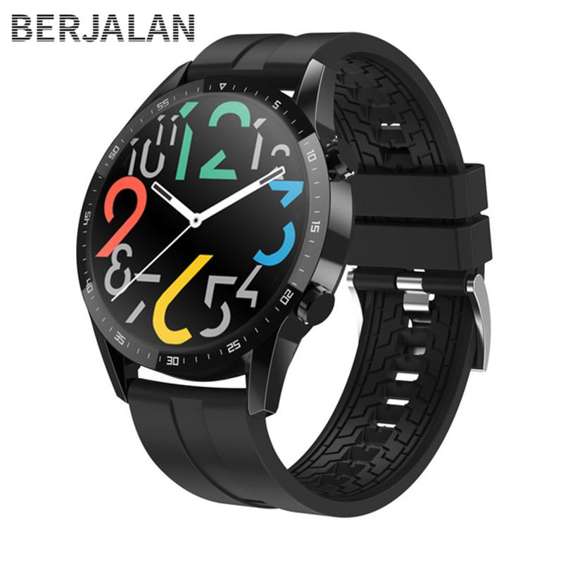 Đồng Hồ Thông Minh Smart Watch Full Màn Hình Tròn Cuộc Gọi Bluetooth Nữ Trái Tim Tỷ Lệ Nam Thể Thao Chống Thấm Nước Đồng Hồ Thông Minh SmartWatch BSW108