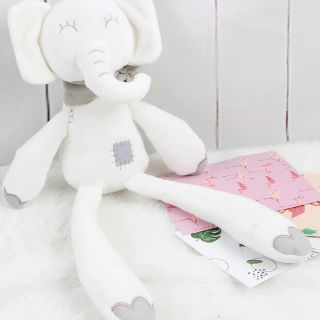 Voi bông đồ chơi cho bé sơ sinh BBSKY
