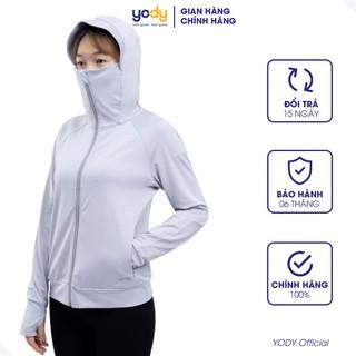 Áo chống nắng Yody nữ Cản tia UV mềm mịn thoáng mát - ACN4002 thumbnail