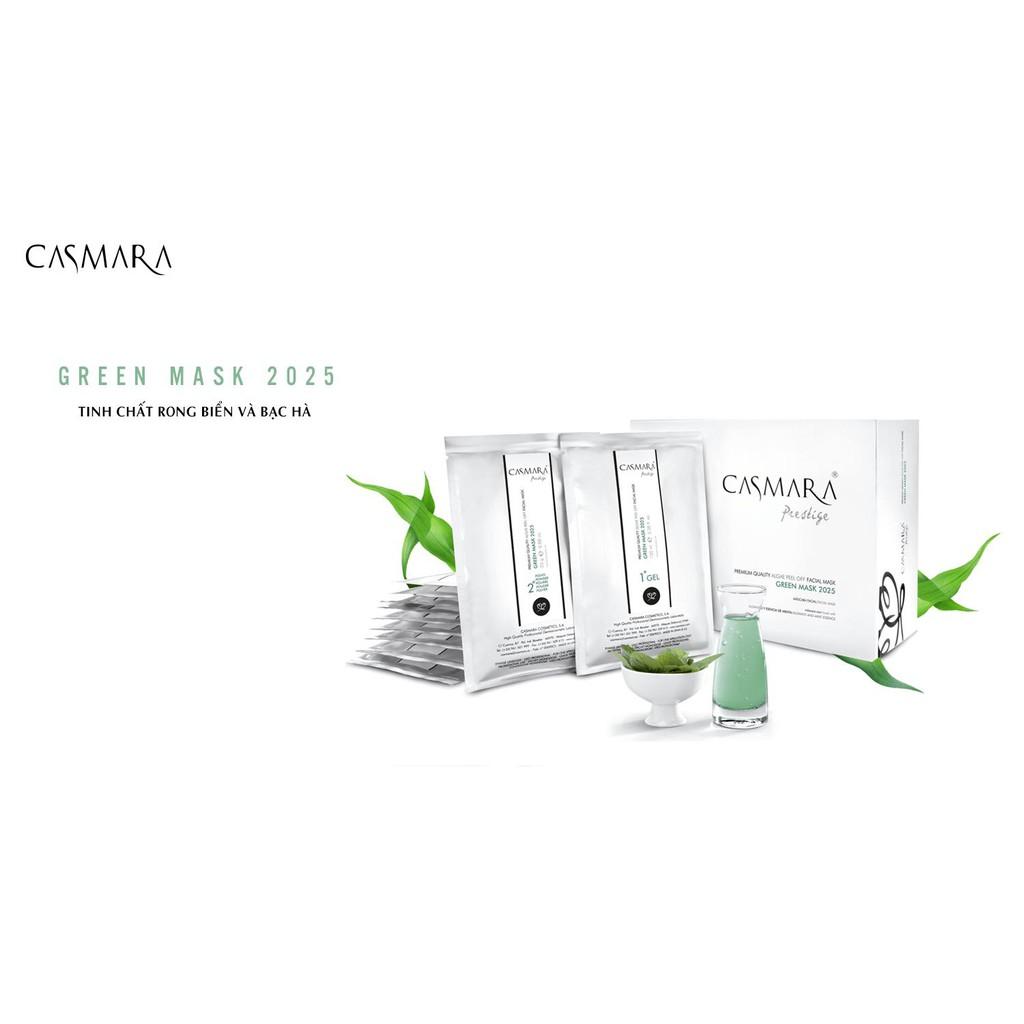 GREEN MASK 2025 ( GREEN ) - MẶT NẠ CUNG CẤP OXY CASMARA