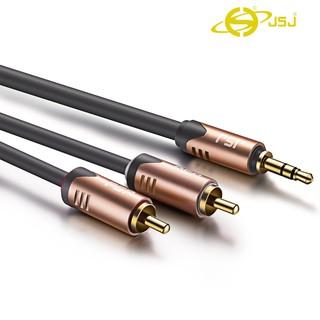 [Mã ELFLASH5 giảm 20K đơn 50K] Dây tín hiệu JSJ: 3.5mm Ra 2 Đầu AV, 4 Đầu AV, 6 Đầu AV, 2 Đầu 3.5mm dài 1.8m - 5m