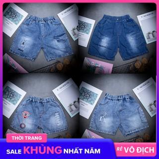 | Bán Chạy | Quần Jeans bé trai quần short bé trai H02 :((