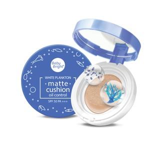 Phấn nước dạng lì Baby Bright White Plankton Matte Cushion SPF50 PA+++ 15g thumbnail