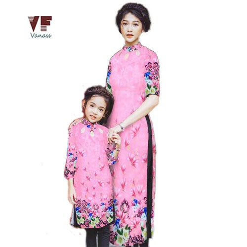 Set áo dài cách tân mẹ và bé VADD07 - 2838750 , 725117252 , 322_725117252 , 600000 , Set-ao-dai-cach-tan-me-va-be-VADD07-322_725117252 , shopee.vn , Set áo dài cách tân mẹ và bé VADD07