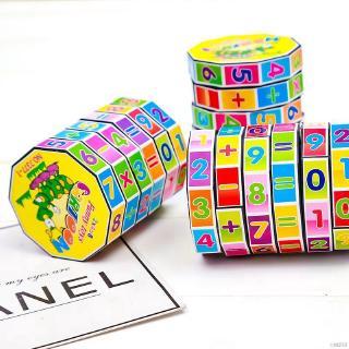 Hibabe Baby Boy Girls Cube Puzzles Children Learning Mathematics Kids Education Toys